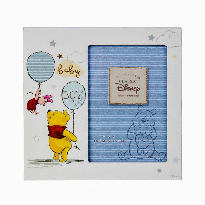 Disney Magical Beginnings Frame Pooh Baby Boy