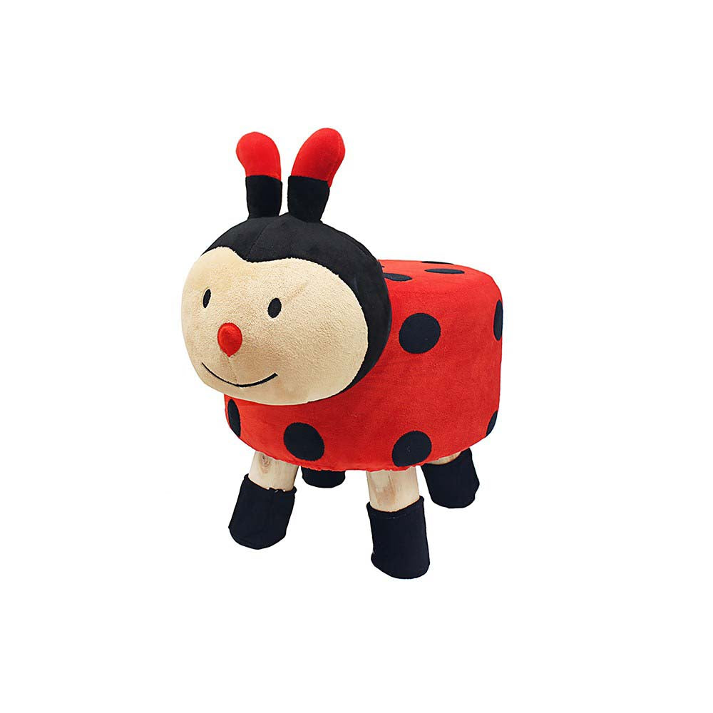 Childrens Childs Ladybird Stool