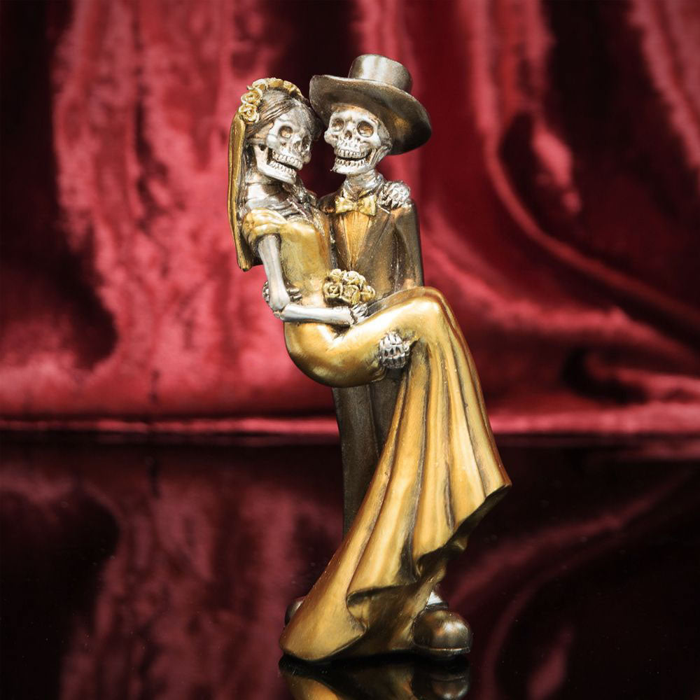Juliana Day Of The Dead - Newlywed Couple Figurine