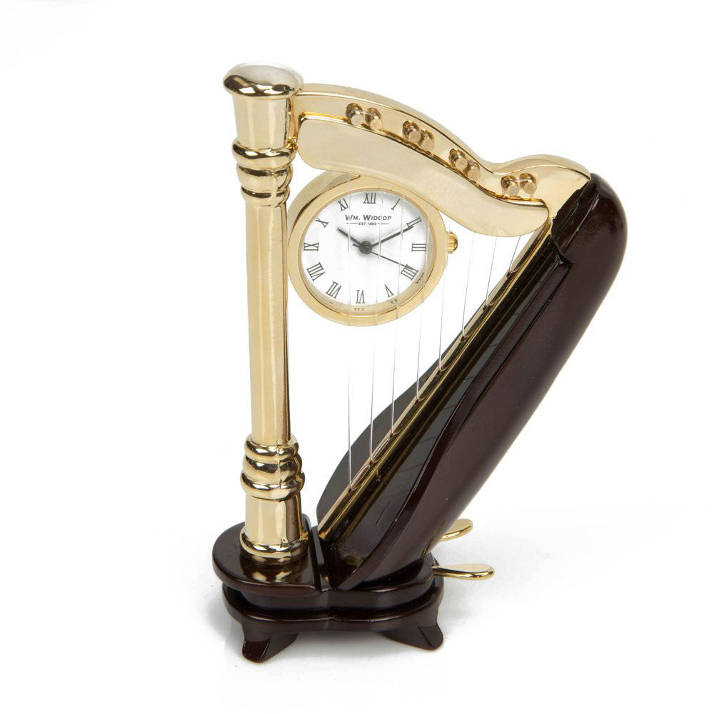 Miniature Clock - Harp