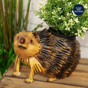Country Living Handmade Metal Hedgehog Planter