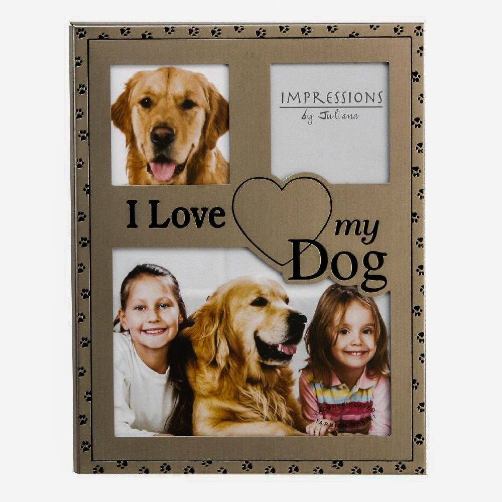 Best of Breed 'I love my dog' photo frame