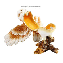 Load image into Gallery viewer, Treasured Trinkets Tawny Owl Trinket Box
