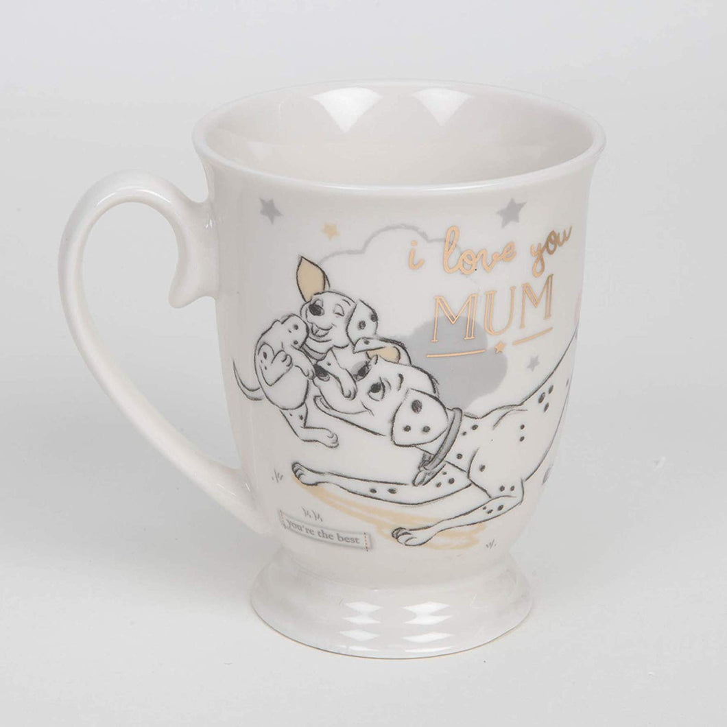 Disney Magical Beginnings Dalmatian Mug - I Love You Mum