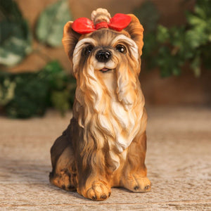 Best Of Breed Yorkshire Terrier  Dog Figurine