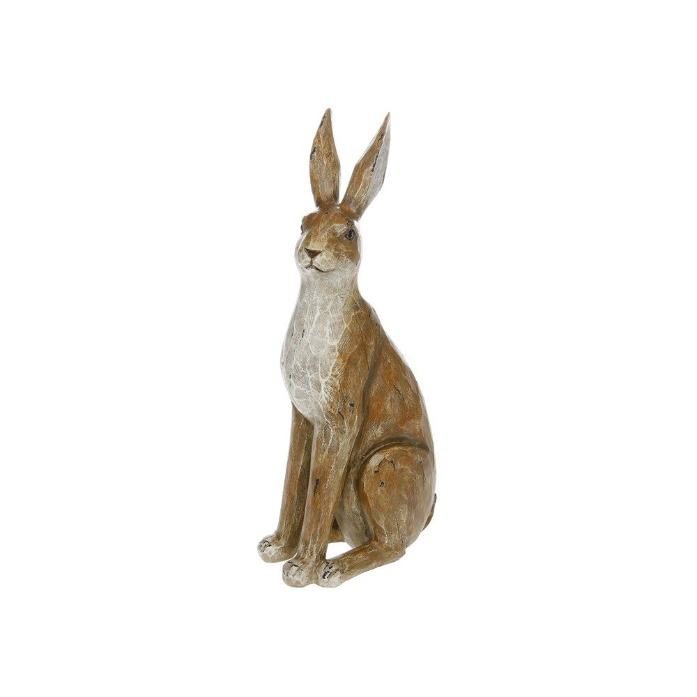 Lesser Pavey Large Country Brown Sitting Hare Ornament