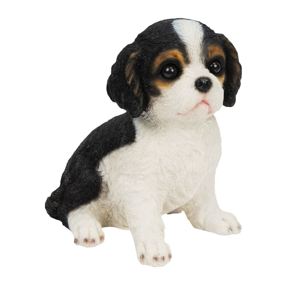 Best Of Breed King Charles Spaniel Pup Figurine