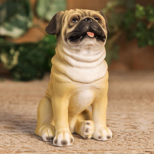 Best Of Breed Pug Dog Figurine