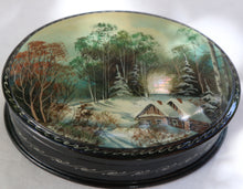 Load image into Gallery viewer, Mother Of Pearl Fedoskino Russian Lacquer Box