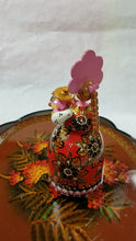 "Load and play video in Gallery viewer, Musical Hand Painted Wooden Russian Souvenir ""Lady with a samovar"""