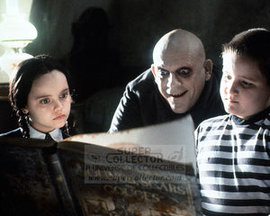 "Pre-Order: Christina Ricci and Christopher Lloyd ""Wednesday Addams and Uncle Fester"" The Addams Family Autographed Photo"