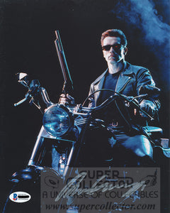 "Arnold Schwarzenegger ""Terminator"" Autograph Terminator 2: Judgment Day 8x10 Photo"