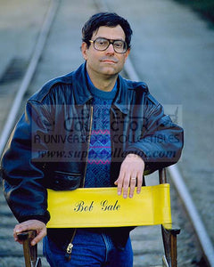 "Pre-Order: Bob Gale ""Writer/Producer"" Back to the Future Autographed Photo"