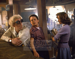 "Pre-Order: Christopher Lloyd ""Doc Brown"" & Lea Thompson ""Lorraine McFly"" Back to the Future Autographed Photo"