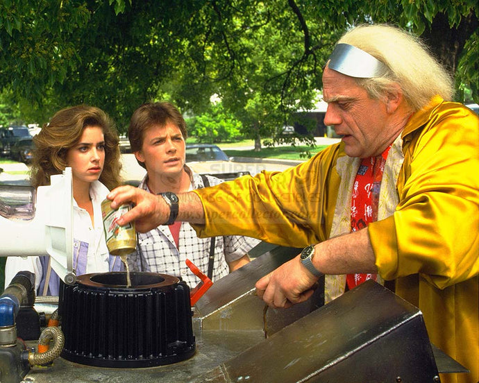 Pre-Order: Back to the Future Cast Autographed Photo