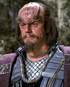 "Pre-Order: Christopher Lloyd ""Commander Kruge"" Star Trek III The Search for Spock Autographed Photo"