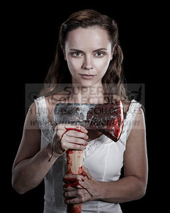 "Pre-Order: Christina Ricci ""Lizzie Borden"" The Lizzie Borden Chronicles Autographed Photo"