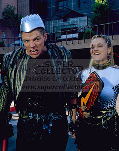 "Pre-Order: Darlene Vogel ""Spike"" & Tom Wilson ""Griff"" Back to the Future II Autographed Photo"
