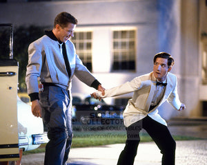 "Pre-Order: Tom Wilson ""Biff Tannen"" & Jeffrey Weissman ""George McFly"" Back to the Future 2 Autographed Photo"