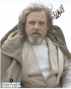 "Mark Hamill ""Luke Skywalker"" 8x10 Autograph Star Wars Celebration 2016"