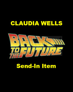 Send-In: Claudia Wells Autographed Personal Item
