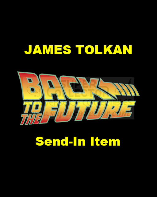Send-In: James Tolkan Autographed Personal Item