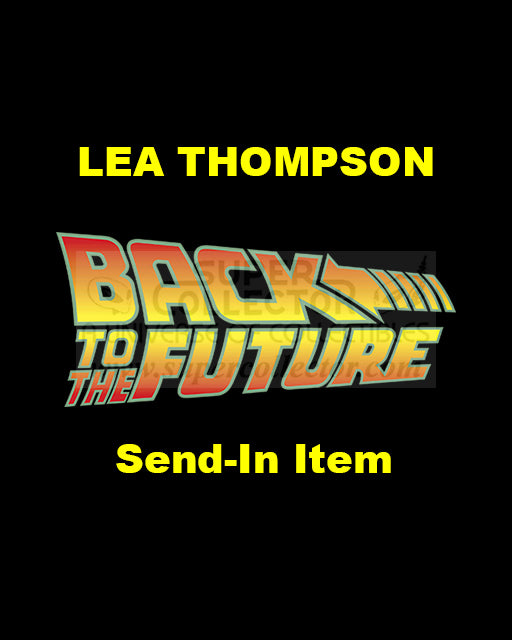 Send-In: Lea Thompson Autographed Personal Item