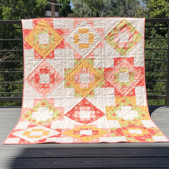 Meadowland Throw Quilt