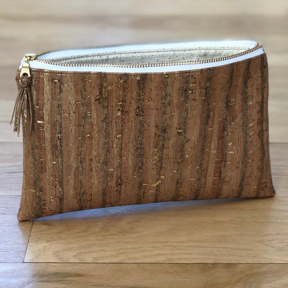 Custom Cork Zipper Pouch