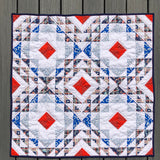 Diamond Ripples Baby Quilt