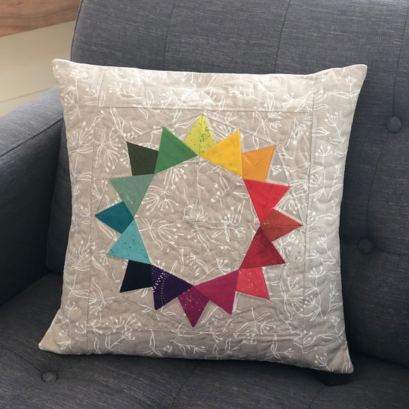 Flicker Quilted Pillow