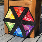 Scrappy Rainbow Table Topper