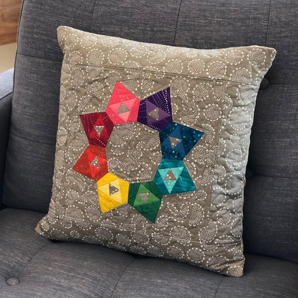 Sparkler Quilted Pillow