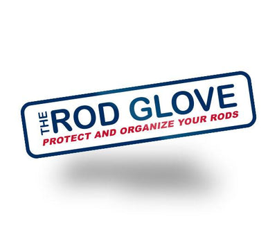 Rod Glove Fishing Vinyl Decal