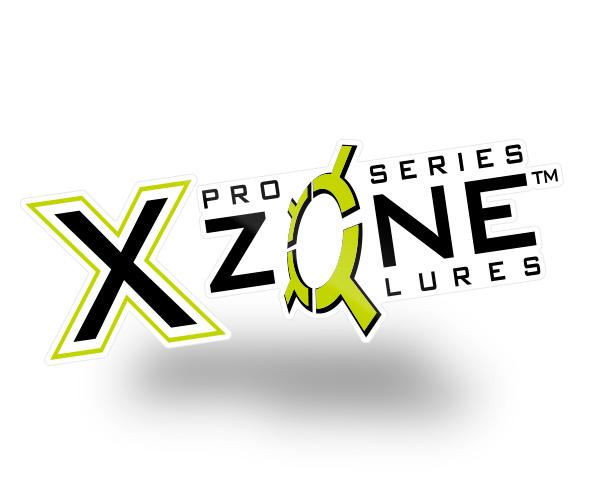 X-Zone Fishing Vinyl Decal