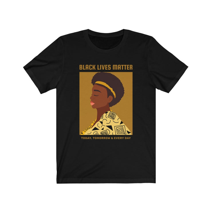 BLM Brown Illustration Tee