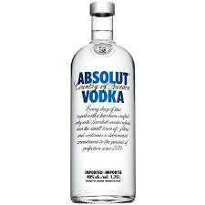 Absolut Blue Vodka 1750 ml