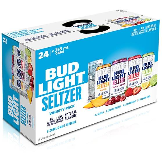 Bud Light Seltzer Variety-Pack 24-Pack