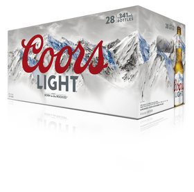Coors Light Bottles 28-Pack