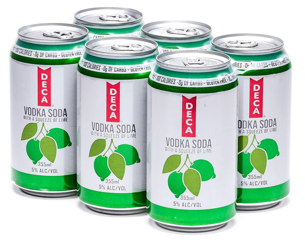 Deca Soda Lime 6-Pack