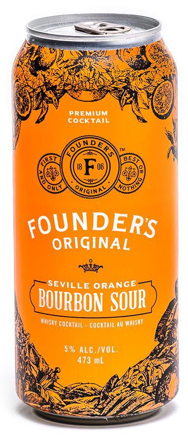 Founders Bourbon Sour 473 Ml