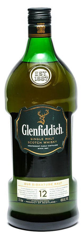 Glenfiddich 12 Year Scotch 1750 ml