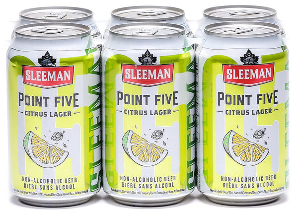 Sleeman Point Five Citrus 6-Pack