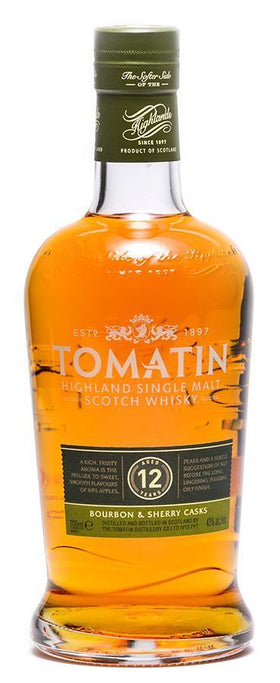 Tomatin Highland 12 Year Scotch 700 ml