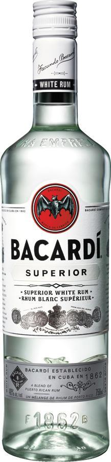 Bacardi Superior White Rum 750 ml