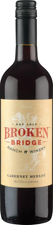 Broken Bridge Cabernet Merlot 750 ml