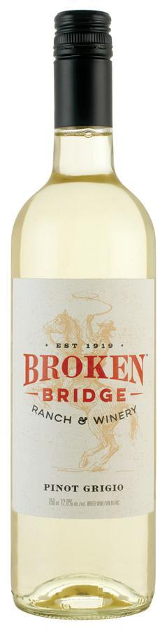 Broken Bridge Pinot Grigio 750 ml