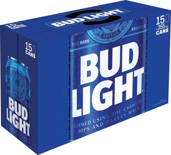 Bud Light 15-Pack