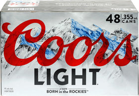 Coors Light Beer 48-Pack