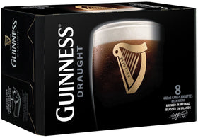 Guinness Draught Cans 8-Pack